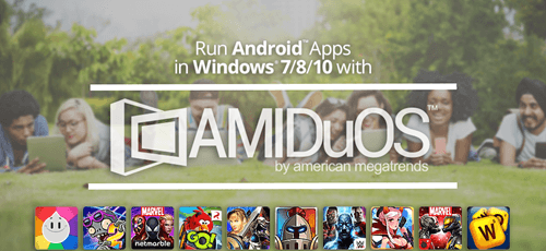 AMIDuOS – Android Emulator for Windows