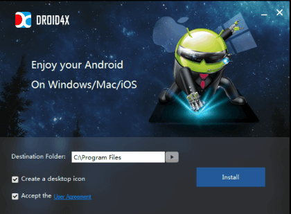 Droid4X Android Emulator for PC, Mac