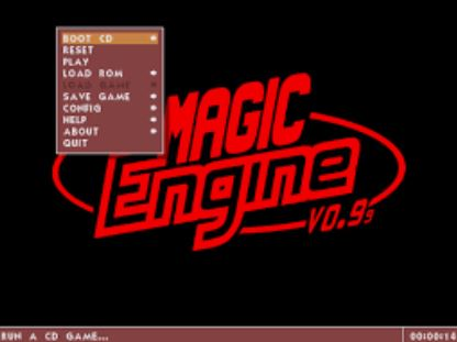MagicEngine is a PC-Engine Console Emulator  - Emulatordesk com